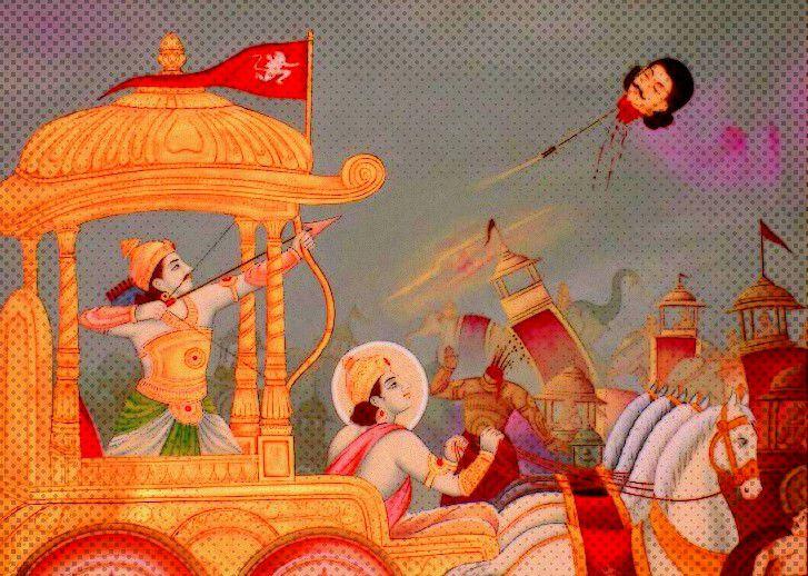 Arjuna Pratijna: A Lesson in Maha-Paapas