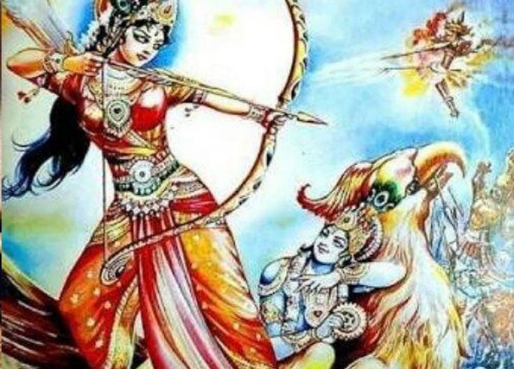 Narakasura Vadha – Mahabharata Tatparya Nirnaya