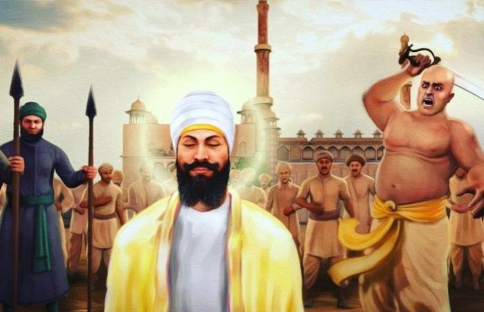 Guru Tegh Bahadur's Martyrdom