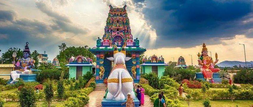 Hindu temple as a religious, spiritual centre