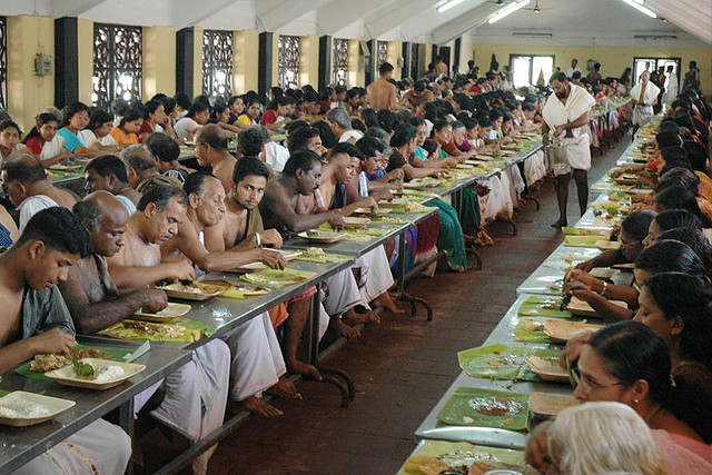 Is it right to use Temple Annadana for political purpose?
